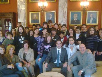 Επίσκεψη Γυμνασίου Αυγείου στη Βουλή