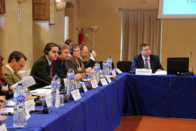 Με το συμβούλιο της Ευρώπης στη Φλωρεντία