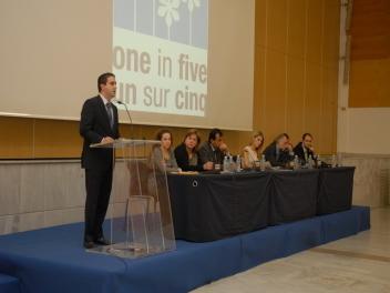 Εκδήλωση στα πλαίσια της εκστρατείας «Ένα στα Πέντε» στη Θεσσαλονίκη