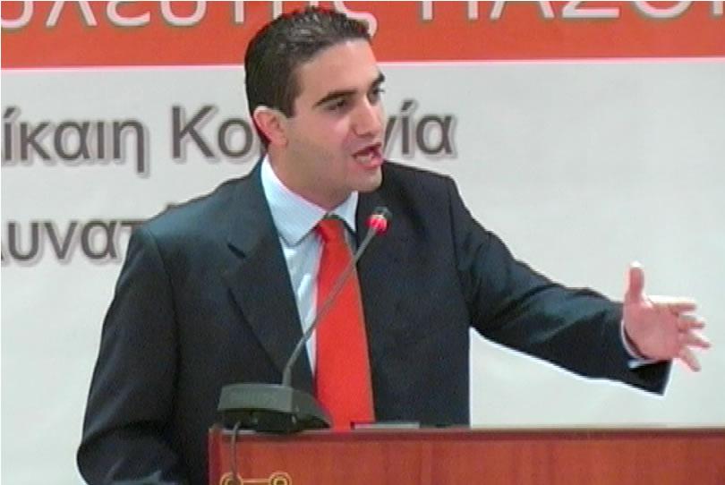 Ομιλία Μιχάλη Κατρίνη στην Εθνική Συνδιάσκεψη του ΠΑΣΟΚ