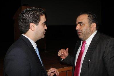 Κατρίνης, Μιχάλης (Βουλευτής Ηλείας) & Σφακιανάκης Εμμανουήλ (Αστυνομικός Διευθυντής, Υποδιεύθυνσης της Δίωξης του Ηλεκτρονικού Εγκλήματος.