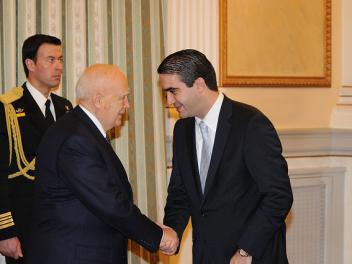 Υποβολή συγχαρητηρίων στον Πρόεδρο της Δημοκρατίας για την επανεκλογή του