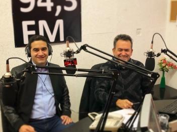 Συνέντευξη στο Νίκο Καραμπάση ζωντανά από το στούντιο του news 94,3