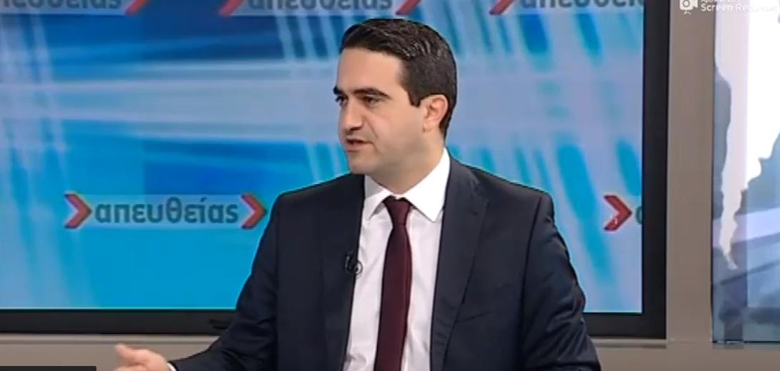 «Ο κόσμος του ΠΑΣΟΚ συσπειρώνεται με τον προσηλυτισμό στελεχών που επιχειρεί ο κ.Τσίπρας.»  Στο σημερινό «Απευθείας» στην ΕΡΤ