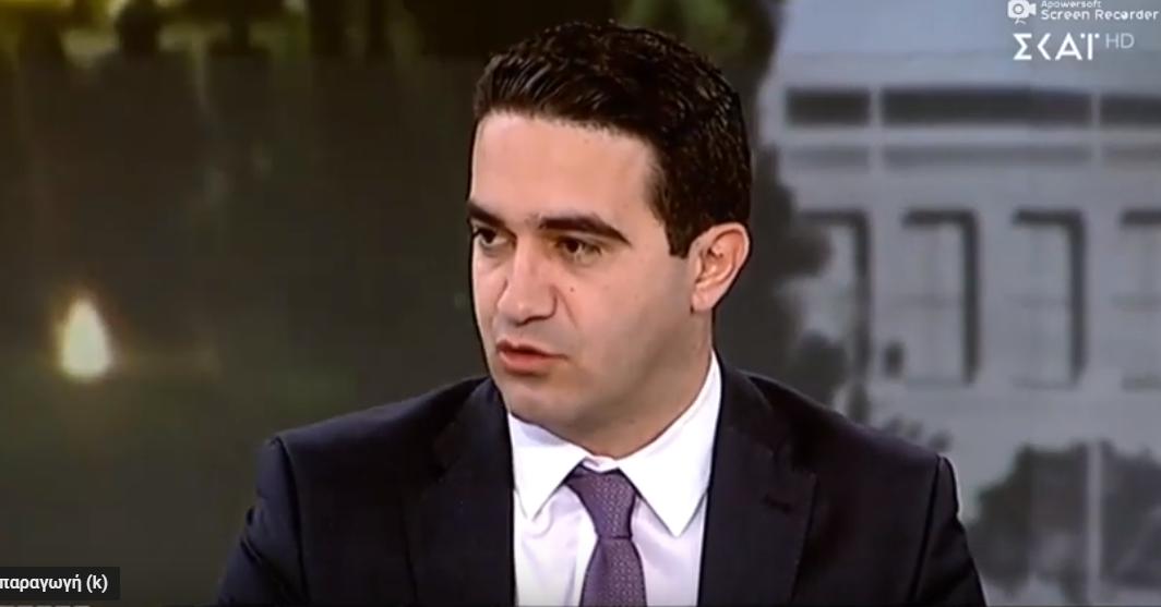 «O Κυρίτσης εκφράζει την αυθεντική γραμμή του ΣΥΡΙΖΑ: ανοχή στη βία και την παραβατικότητα. Τι σχέση μπορεί να έχει ο χώρος μας με αυτή τη λογική;» Στους «Αταίριαστους» στον ΣΚΑΪ