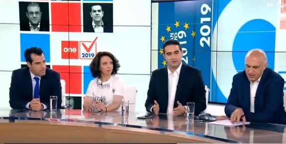 « Ο κ.Τσίπρας καθυστερεί την προκήρυξη των εκλογών για να παραστεί ως Π/Θ στη σύνοδο κορυφής της ΕΕ και να ελέγξει τη δικαιοσύνη. Τακτικισμοί…και τώρα!» Το βράδυ των εκλογών στο ONE Channel