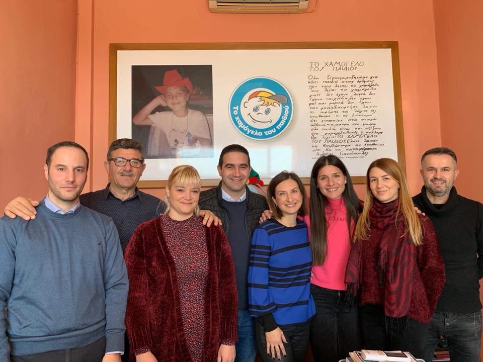 Επίσκεψη στο «Χαμόγελο του Παιδιού»: Ας κάνουμε το 2020 μια χρονιά κοινωνικής αλληλεγγύης