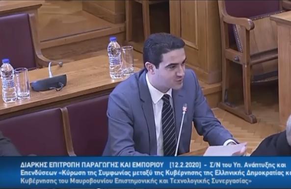 Μας ενδιαφέρει η Ελλάδα να ξανά παίξει ρόλο πρωταγωνιστή στα Βαλκάνια – ΟΜΙΛΙΑ ΣΤΗΝ ΕΠΙΤΡΟΠΗ ΤΗΣ ΒΟΥΛΗΣ