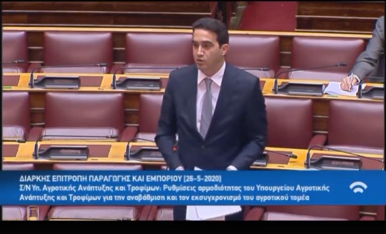 Οι πατατοπαραγωγοί δεν είναι πληττόμενος κλάδος κ. Υπουργέ, όταν πουλάνε με 13 λεπτά, έχουν μείωση εξαγωγών και ανταγωνίζονται 120.000 τόνους εισαγόμενης αιγυπτιακής πατάτας;ΟΜΙΛΙΑ ΣΤΗ ΒΟΥΛΗ