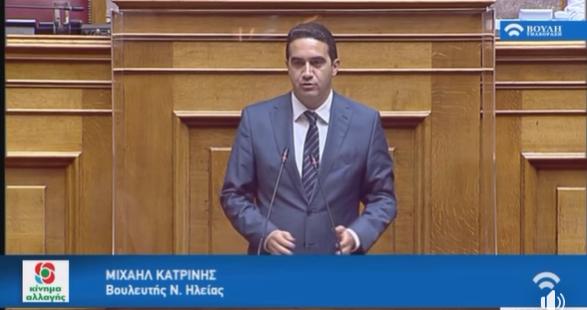 Ο ΣΥΡΙΖΑ δεν ψηφίζει επί της αρχής ένα νομοσχέδιο που δίνει τη μοναδική διέξοδο ρευστότητας στις περισσότερες μικρές επιχειρήσεις-ΟΜΙΛΙΑ ΣΤΗ ΒΟΥΛΗ