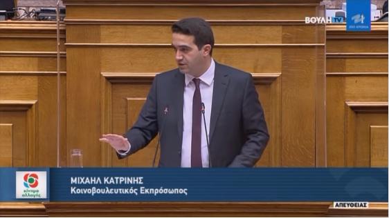 Η Ελλάδα είναι η χώρα με τη μεγαλύτερη, χρονικά, εφαρμογή περιοριστικών μέτρων χωρίς ουσιαστικό αποτέλεσμα-ΟΜΙΛΙΑ ΣΤΗ ΒΟΥΛΗ